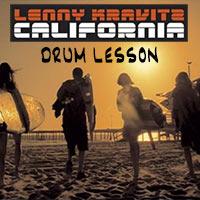 drum-lesson-lenny-kravitz-california